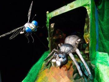 Theater Salz+Pfeffer: Otto, die kleine Spinne