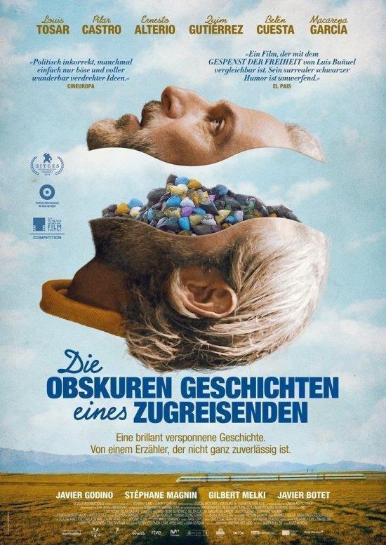 Filmplakat von DIE OBSKUREN GESCHICHTEN EINES ZUGREISENDEN
