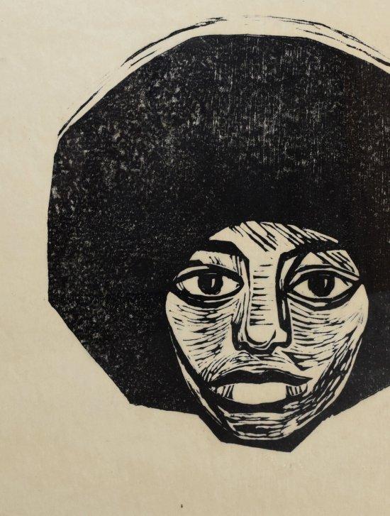 Dore Meyer-Vax, Angela Davis, 1972, Sammlung Matthes