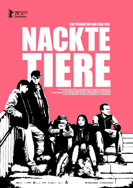 Filmplakat zu NACKTE TIERE