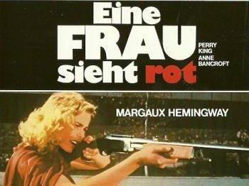 Filmplakat von EINE FRAU SIEHT ROT