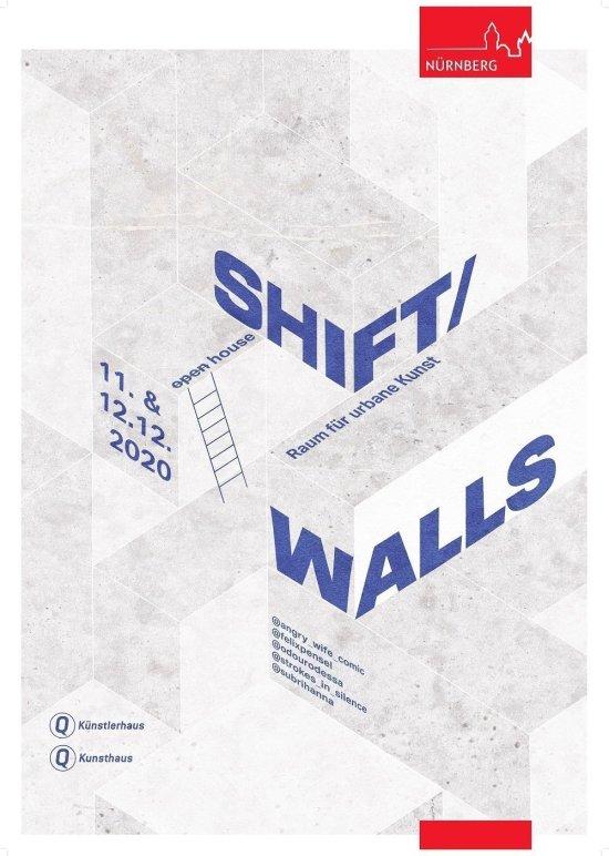 Logo mit Schriftzug Shift / Walls
