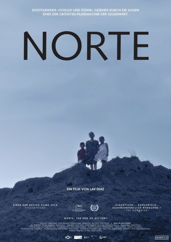Filmplakat von NORTE - THE END OF THE HISTORY