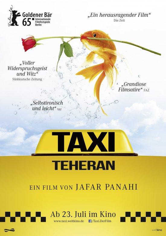 Filmplakat zu TAXI TEHERAN
