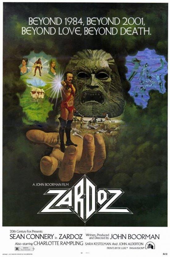 Filmplakat zu ZARDOZ - DER BOTE DES TODES