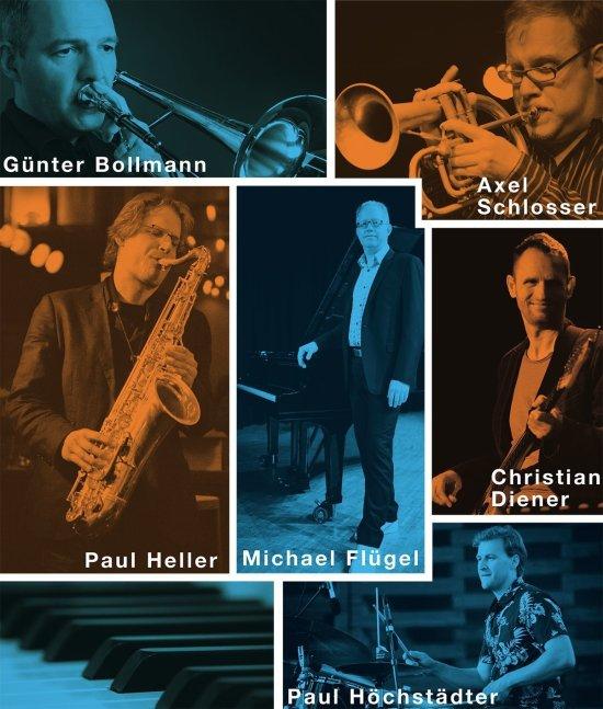 Eine Collage von Michael Flügel, Fünter Bollmann, Axel Schlosser, Paul Heller, Christian Diener und paul Höchstädter