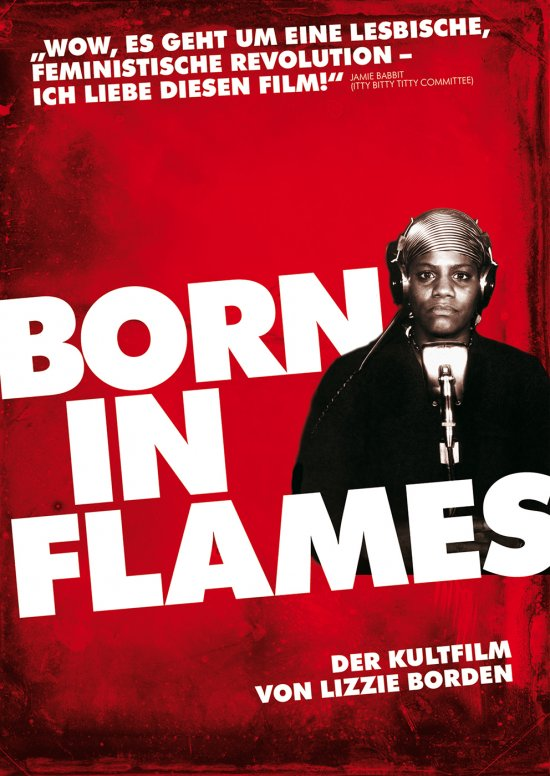 Filmplakat zu BORN IN FLAMES