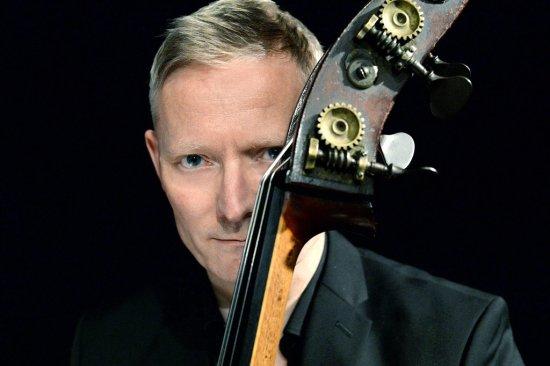 Markus Schieferdecker mit deinem Instrument
