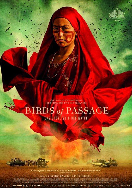 Filmplakat zu BIRDS OF PASSAGE – DAS GRÜNE GOLD DER WAYUU