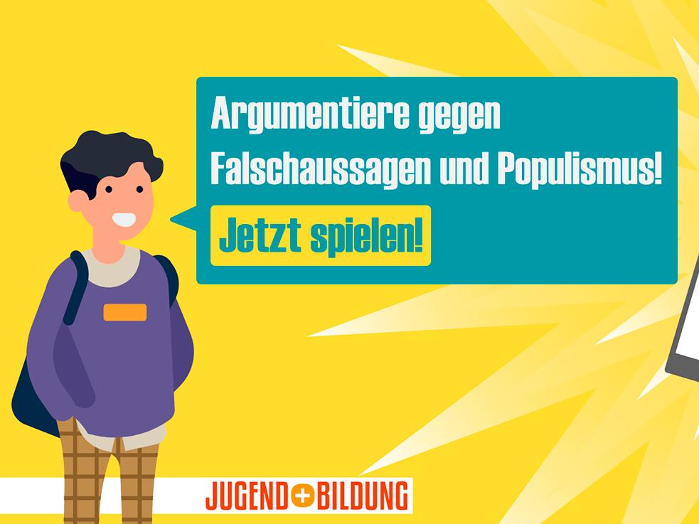 Argumentieren gegen Falschausagen und Populismus