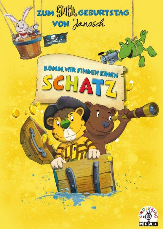 Filmplakat zu JANOSCH - KOMM, WIR FINDEN EINEN SCHATZ