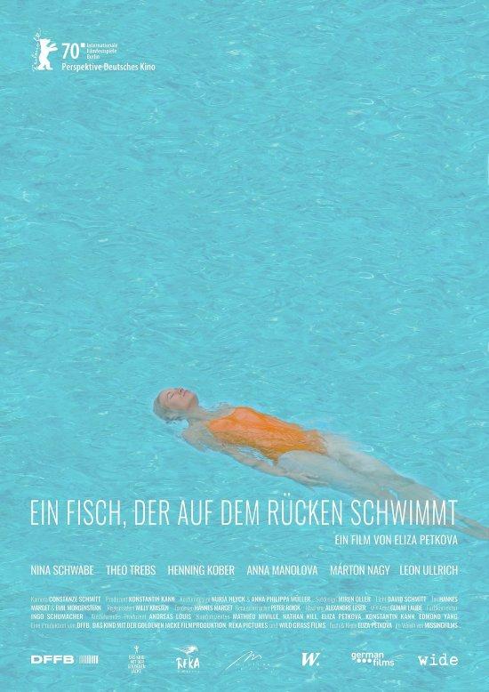 Filmplakat zu EIN FISCH, DER AUF DEM RÜCKEN SCHWIMMT