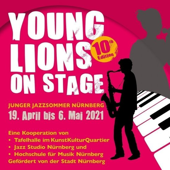 Young Lions on Stage, Wort-Bild-Marke