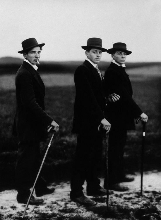 """Foto """"Jungbauern"""", 1914, von August Sander"""