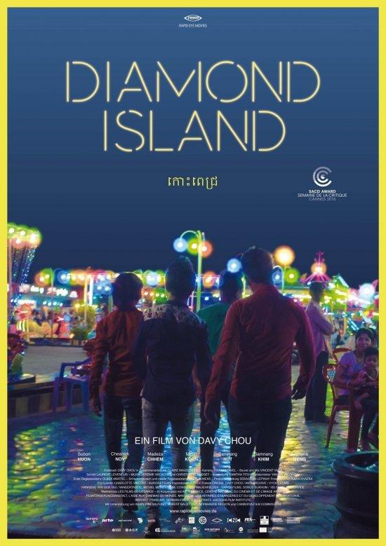 FIlmplakat zu DIAMOND ISLAND
