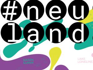 Logo der Ausstellung #neuland