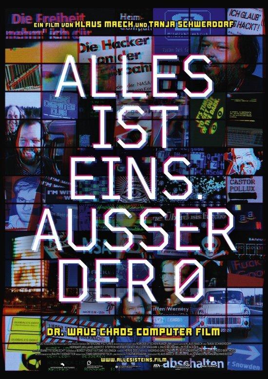 Filmplakat zu ALLES IST EINS. AUSSER DER 0.
