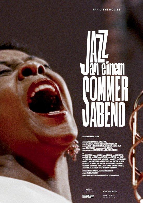 Filmplakat zu JAZZ AN EINEM SOMMERABEND