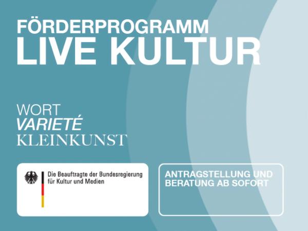 Förderprogramm Live Kultur