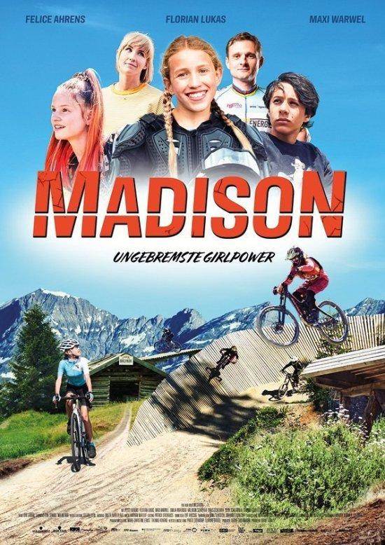 Filmplakat zu MADISON - UNGEBREMSTE GIRLPOWER