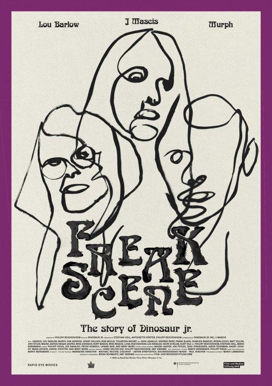 Filmplakat zu FREAKSCENE – THE STORY OF DINOSAUR JR.