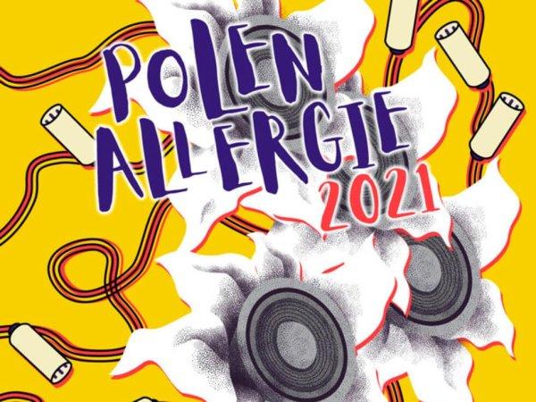 Plakatmotiv der Konzertreihe PolenAllergie 2021