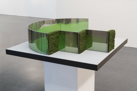 Modell eines Pavillons für einen Platz in Antwerpen