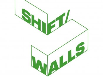 shift/walls Logo grün