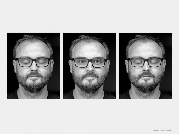 Drei Portraits von Marc Pfeiffer