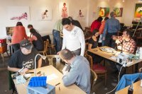 REPAIR CAFE IN DER KOFFERFABRIK